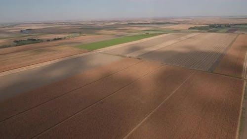 Agriculture Parcels Cloud Shadows