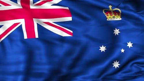Victoria State Flag