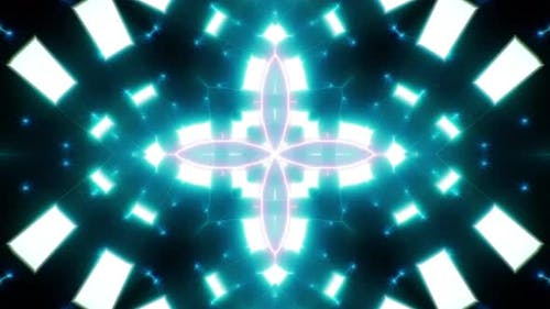 Abstract Cyan Light Background 03