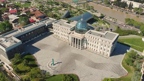 Presidential Palace Fly Over View