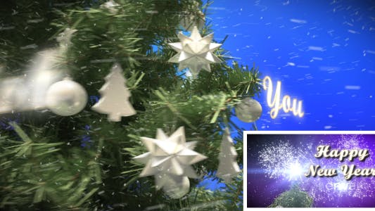 Thumbnail for Xmas Tree Greeting & Countdown