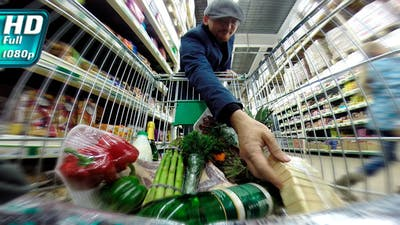 Shopping in the Supermarket