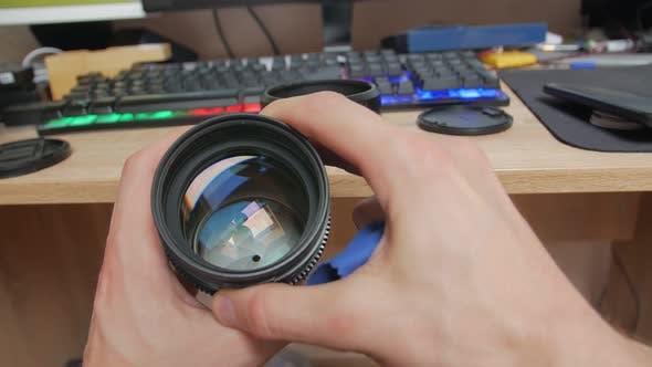 Blende für Kameraobjektiv