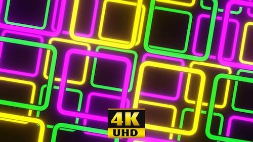 Vj Loop Disco Welligkeit Lichter 4K