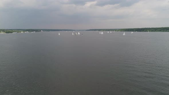 Thumbnail for Sailboats on Water Surface