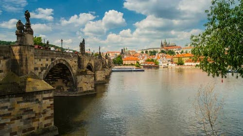 Popular Touristic Place in Prague