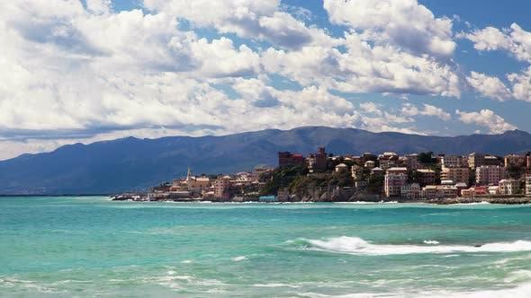 Thumbnail for Genoa, Italy, Sea Cost