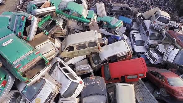 Thumbnail for Hundreds of Thousands of Vehicles Piled High.