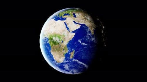 Earth Rotation Loop 4K