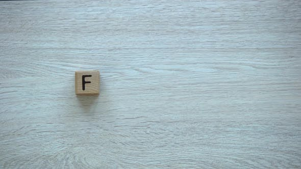 Thumbnail for Family Stop Motion Word on Wooden Cubes