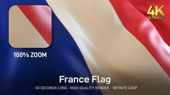 Thumbnail for France Flag - 4K