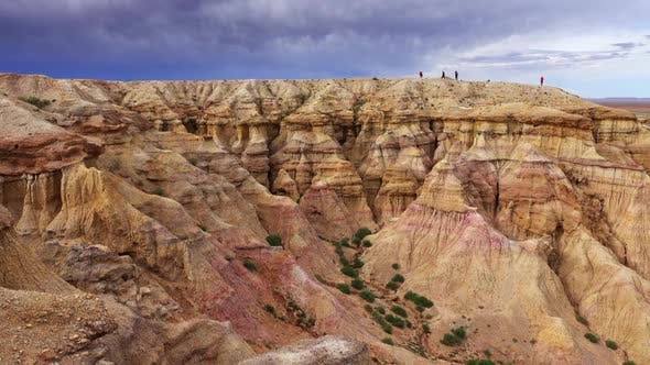 Thumbnail for Colorful Striped Canyons Tsagaan Suvarga Mongolia