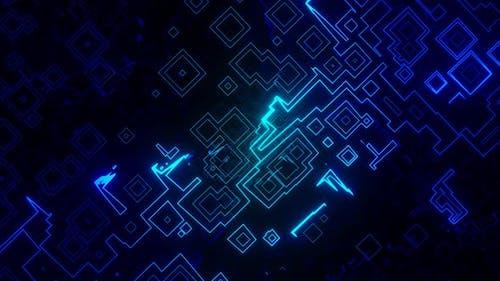 Digital Technology Circuit Network Loop