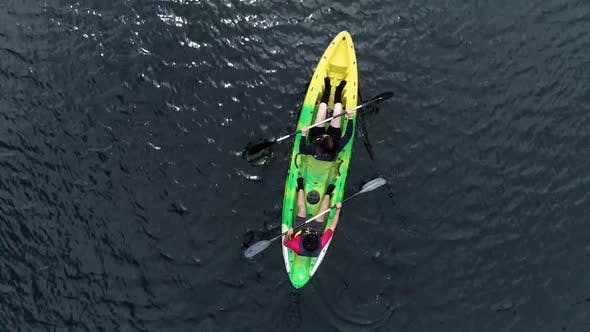 Thumbnail for Canoeing Aerial View