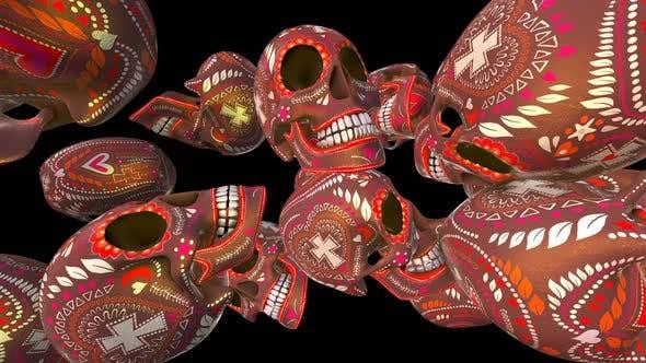 Thumbnail for Sugar candy skulls