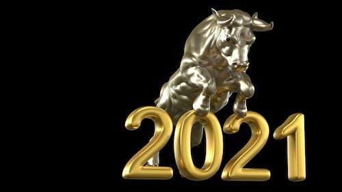 New Year Bull 2021