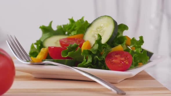 Thumbnail for Fresh vegetables and salad