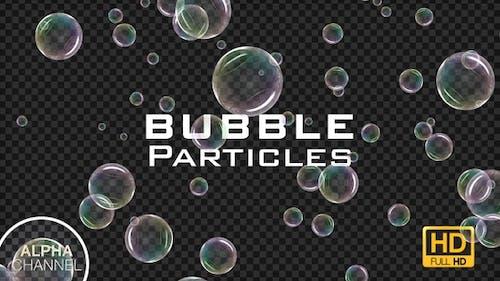 Soap Bubble Particles