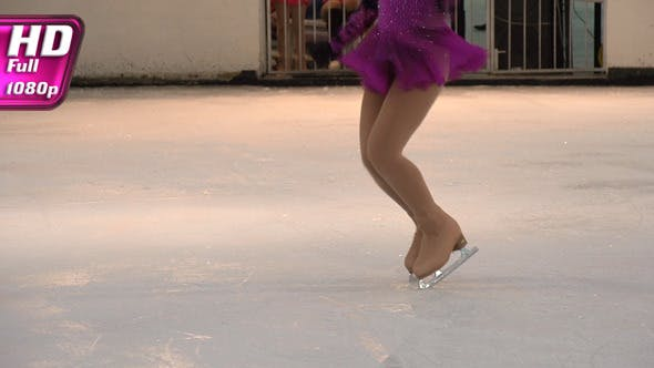 Performance auf Eis