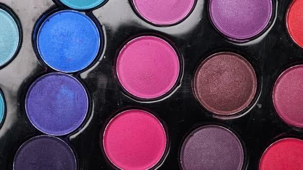 Professional Makeup Eyeshadows Palette for Makeup Artist