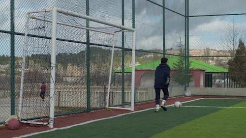 Goalie Man Training