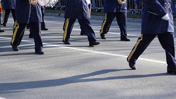 Army Fanfare Parade