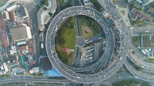 Thumbnail for Circular Elevated Nanpu Road Intersection. Shanghai, China