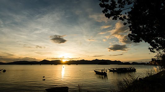 Thumbnail for Langkawi Sunrise Time Lapse 01