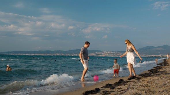 Thumbnail for Family Fun On the Beach