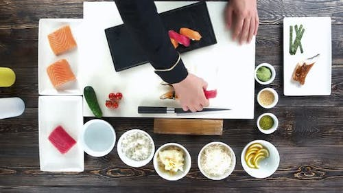 Cooking Table, Sushi