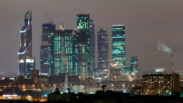 Thumbnail for Moscow City Time Lapse