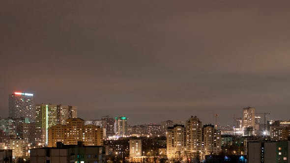 Thumbnail for City Time Lapse By Night