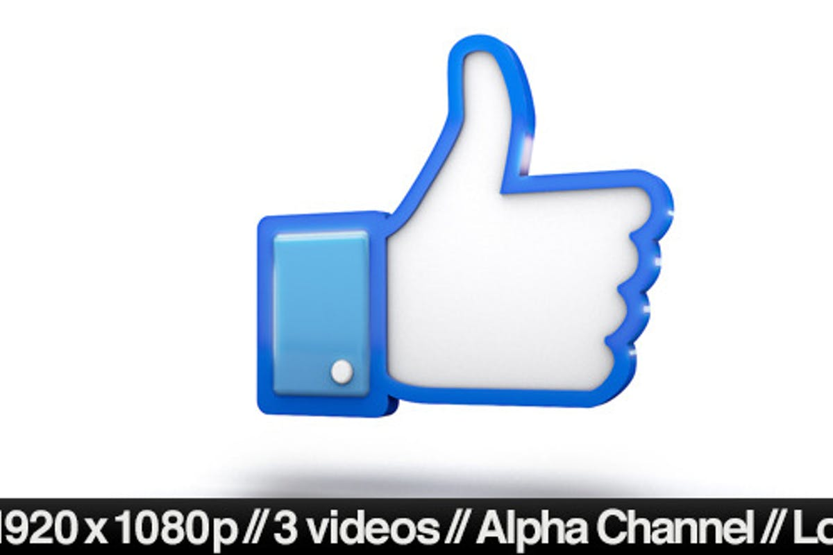 Facebook 3d Thumbs Up Like Icon By Butlerm On Envato Elements