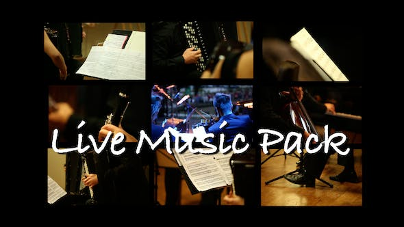Thumbnail for Live Music Pack