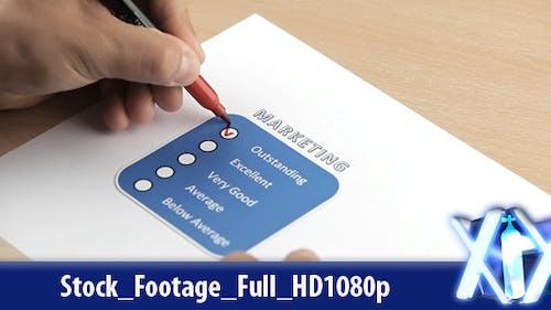 Marketing Evaluation Form
