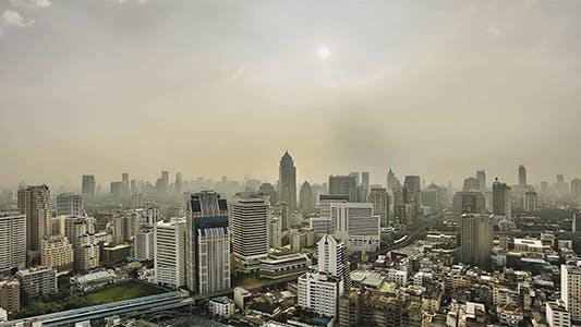 Thumbnail for Hazy City Skyline