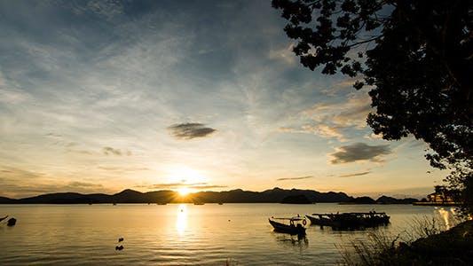 Cover Image for Langkawi Sunrise Time Lapse 01-4K