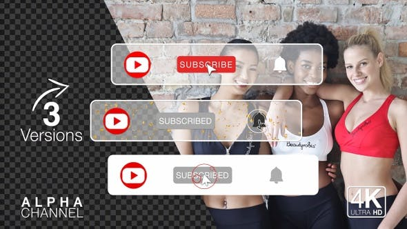 Youtube Subscribe Buttons