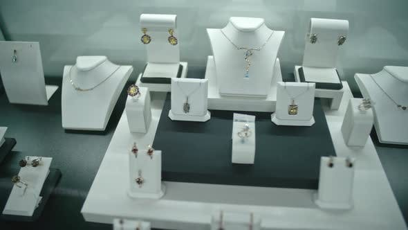 Thumbnail for Jewelry Showcase in Luxury Shop