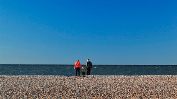 Thumbnail for Family Of Three on Pebble Beach