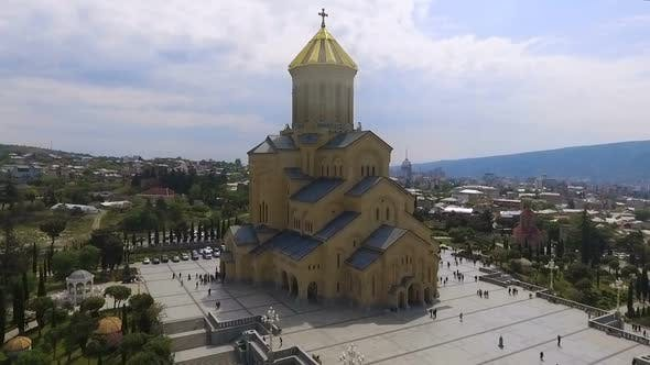 Thumbnail for Sameba Cathedral in Tbilisi, Largest Religious Building, Historical Attraction