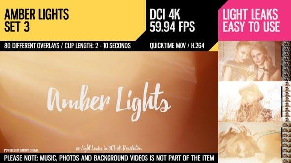 Thumbnail for Amber Lights (4K Set 3)