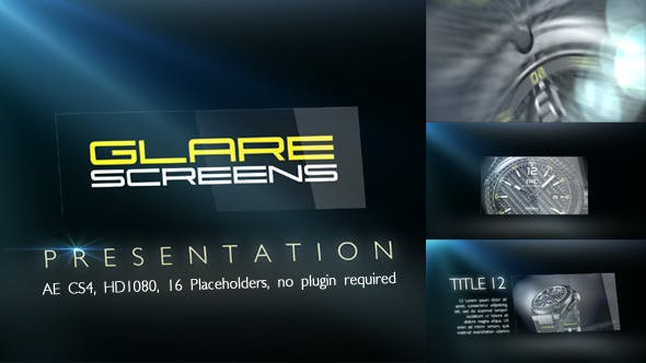 Thumbnail for Glare Screens Presentation