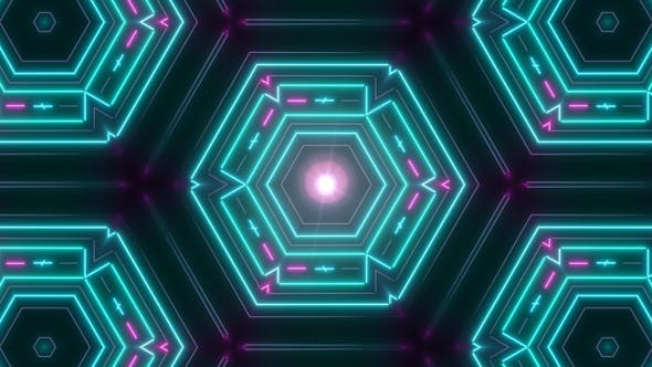Thumbnail for Vj Disco Lichter Neon