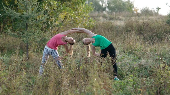 Thumbnail for Two Girls Training 2