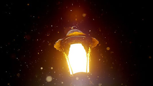Thumbnail for Snow Falls On An Old Lantern 1