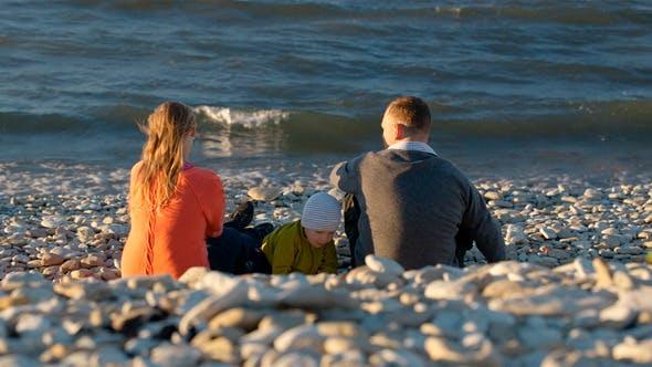 Thumbnail for Family Of Three on Pebble Beach 2