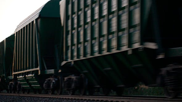 Thumbnail for Freight Train Passing By