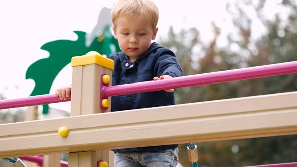 Thumbnail for Boy on Playground Equipment 2
