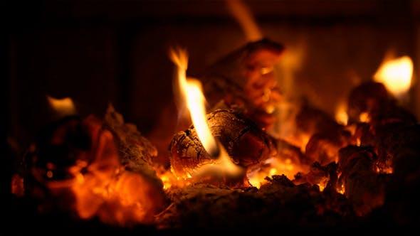 Thumbnail for Burning Firewood